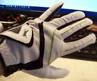 NWT -SLAZENGER RAW DISTANCE GOLF GLOVE-WHITE-MENS XL or CADET XL - L H (LotG06)