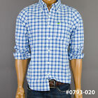 NWT Hollister Mens Hco Muscle Fit Classic Plaid Casual Shirt by Abercrombie