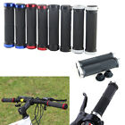 1 Pair Double Lock On Locking Bicycle Mountain BMX Bike Cycling Handle Bar Grips