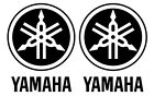 Two (2):  Yamaha #1 Motorcycle Gas Tank Left/Right stickers VINYL DECALS