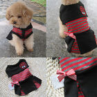 2016 New Fashion Various Pet Puppy Small Dog Cat Clothes cute skirt dress