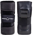 "PRO-TEC ""Street"" Wrist Guards BLACK Roller Derby Skateboard S M L  Wristguards"