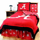 Alabama Crimson Tide Comforter Sham Bedskirt Pillowcase Valance Twin to King CC