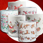 Santa Claus Deer Merry Christmas Toilet Paper Tissue Table Room Home Decoration