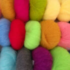 Soft Luxury Angola Mohair Cashmere Wool Yarn Skein Comfortable Multi Colors Lot