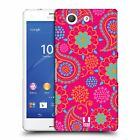 HEAD CASE DESIGNS PSYCHEDELIC PAISLEY HARD BACK CASE FOR SONY XPERIA Z3 COMPACT