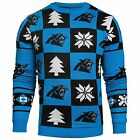 Forever Collectibles NFL Men's Carolina Panthers 2016 Patches Ugly Sweater