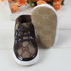 New Fashion Design Toddler Soft Soled Pre-walker Lace-up Baby Non-slip Shoes