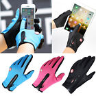 Thick Warm Texting Gloves Full Finger Cycling Gloves Men/Women Work Gloves 2017