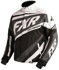 FXR Mens Black/Charcoal/White Snowmobile Cold Cross X Jacket Snocross