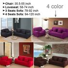 Sofa Slipcover, Couch Cover, 1 2 3 Seater Protector, Stretch Sofa&Loveseat Cover