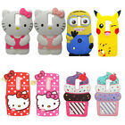 3D Cartoon Soft Silicone Back Case Cover For LG G Stylo LS775 Stylus 2 K520 K530