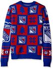 Forever Collectibles NHL Men's New York Rangers Patches Ugly Sweater