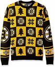 Forever Collectibles NHL Men's Boston Bruins Patches Ugly Sweater $34.95 USD on eBay