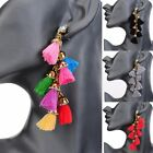Hot Fashion Women's Tassel String Ear Stud Dangle Earrings Charming Jewelry New