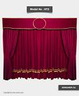 Velvet Curtain Stage Home Theater Event Backdrop Movie Cinema Wedding 8'W x 8'H