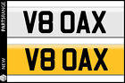 Private Number Plate V8 OAX Dax Gift Rush Westfield Tojeiro Kit Car Personalised
