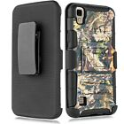 Shockproof Case w/Stand+Holster Clip Cover for LG Tribute HD X Style LS676 L56VL