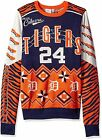 KLEW MLB Men's Detroit Tigers Miguel Cabrera #24 Ugly Sweater