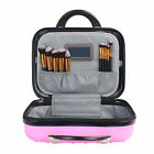 """Portable 14"""" ABS+PC Hardshell Beauty Case Makeup Suitcase Cosmetic Train Cases"""