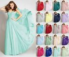 Long Formal Evening Prom Party Dress Ball Gown Cocktail Bridesmaid Dresses 6-18