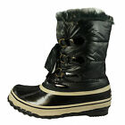 Sporto Women's Duck Boots Winter Pack Boots Style Winnie Black