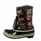 Sporto Women's Duck Boots Winter Pack Boots Style Winnie Red Plaid