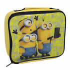 3205225HV Mega Brands Dispicable Me Minions Yellow Lunch Bag- Great Price