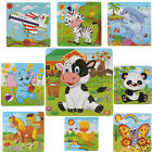 Wooden Puzzles Kinds Of Animal Jigsaw Toys For Kids Education Learning Toys