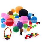 Kyпить 100pcs DIY Mixed Color Kid Craft Pom Poms Soft Fluffy Pompoms Balls на еВаy.соm