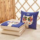 Multi-function Foldable Pillow Blanket Quilt Cartoon Car Office Home Bolster