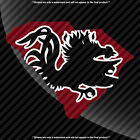 South Carolina Gamecocks USC SC State Pride Decal Sticker 3 Color- Choose A Size
