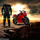 Outdoor Sports Breathable Men's Motorcycle Riding Protective Locomotive Suit