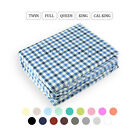 Sheets Pillowcases - 40 OFF 4 Piece Bed Sheet Set Solid Color Deep Pocket Hotel Quality 1800 Count