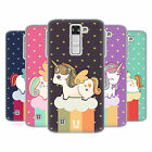 HEAD CASE DESIGNS UNICORN CHUBBY SOFT GEL CASE FOR LG K8 / PHOENIX 2