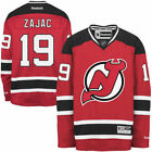 Reebok Travis Zajac New Jersey Devils Mens Red Home Premier Jersey NHL