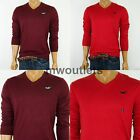 New Hollister Mens Hco  Muscle Fit Long Sleeve V-Neck Sweater