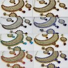 Bollywood Kundan Indian Jewelry Women New Necklace Set Earring Tikka