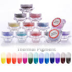BORN PRETTY Nail Color Changing Thermal Glitter Powder Manicure Gradient Pigment