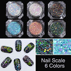 1 Box BORN PRETTY Chameleon Nail Art Glitter Sequins Mermaid Scale Paillette 2g