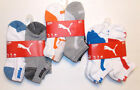 Puma Mens 6 Pack Low Cut Socks 3 Color Choices Size 10-13 NWT