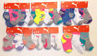 Puma Infant Toddler Girls 6 Pack Socks Quarter Crew or Low Cut 0-12M or 2-4T NWT