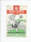 Derby County v Birmingham City 27 January 1951 FA Cup 4th Round