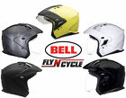 Bell Mag-9 Open Face 3/4 Motorcycle Cruiser Helmet DOT Scooter