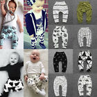 Внешний вид - Kids Baby Boys Girls Harem Pants Cotton Trousers Toddler PP Leggings Sweatpants