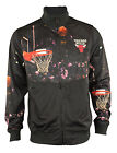 Zipway NBA Men's Chicago Bulls All Net Full Zip Track Jacket