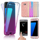 Ultra Thin Slim 360 TPU Gel Skin Cover Case Pouch for Samsung Galaxy S7 S7 Edge
