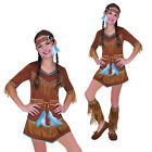 Girls Dream Catcher Cutie Fancy Dress Costume Kids Native American Indian Outfit