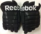 Reebok HG95 Pro Stock Hockey Gloves Black 14 New Lake Erie Monsters 2844