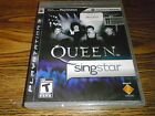 QUEEN SINGSTAR Playstation 3 PS3 Game New Sealed